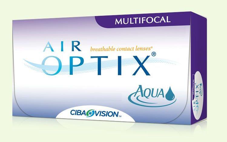 AirOptix Aqua Multifocal havi kontaktlencse
