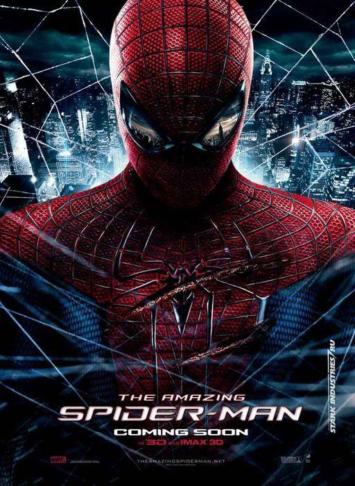 Amazing Spiderman movie poster