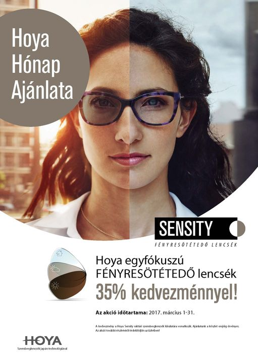 Sensity 35% akció