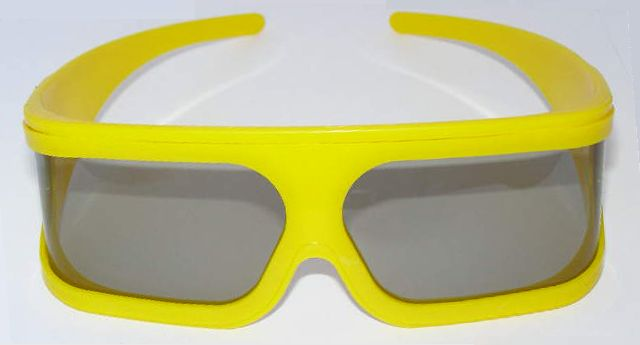 polarizált 3D szemüveg