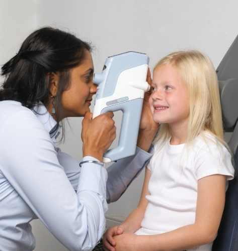 gyermek szemnyomás mérés