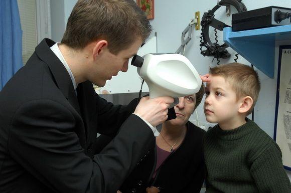 gyermek szemvizsgálat