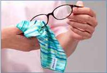szemüveg törlő kendő