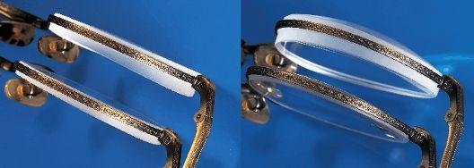 Vékony, könnyű szemüveglencse