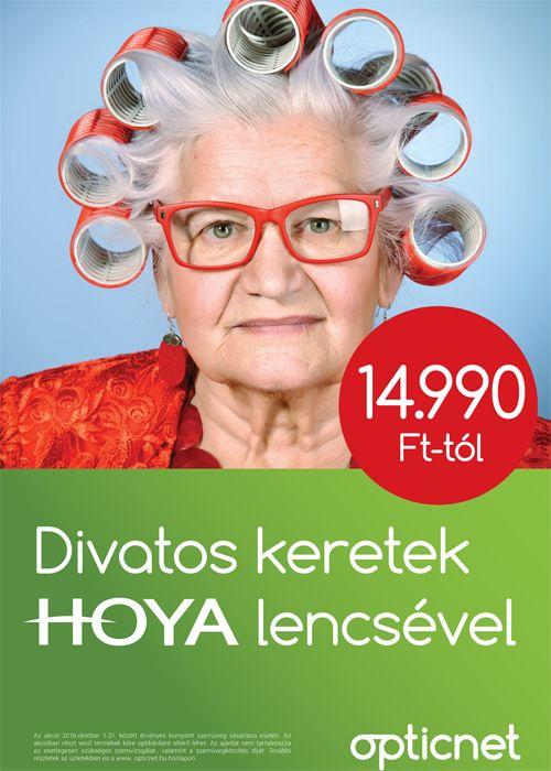 Divatos szemüvegkeretek Hoya lencsével