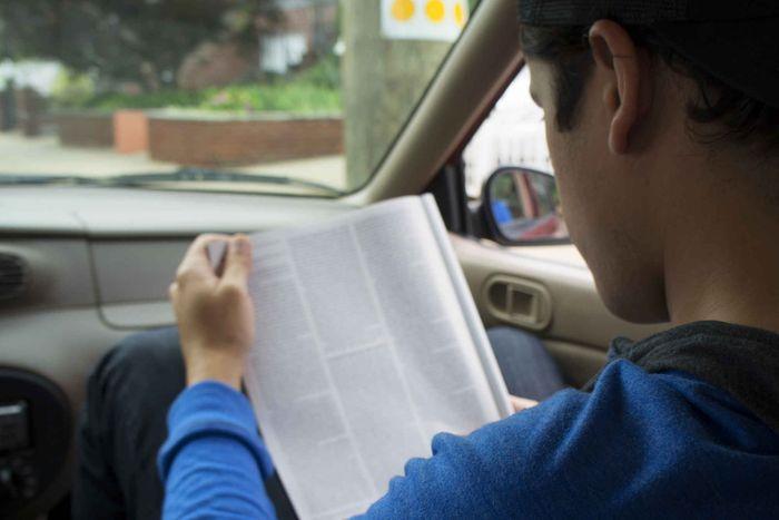 olvasás utazás közben
