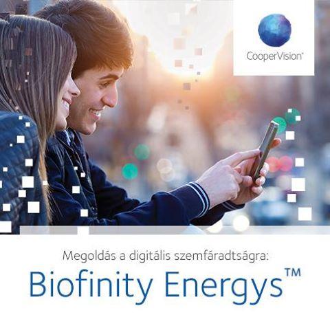 Biofinity Energys – A digitális világ igényeire tervezett kontaktlencse
