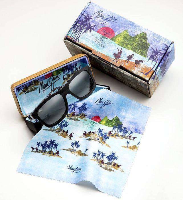 """Maui Jim és Vinylize együttműködése: Limited Edition """"Hula Blues"""" napszemüveg"""