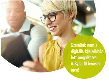 Sync III szemüveglencse