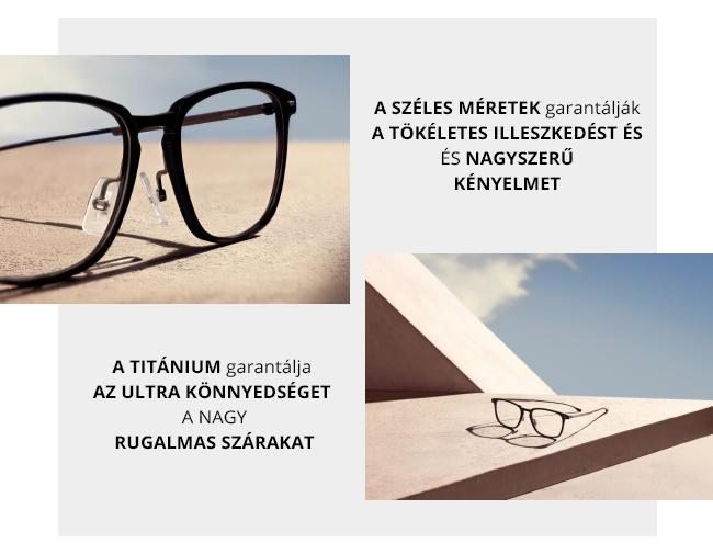 Boss Titanium XL szemüvegkeretek