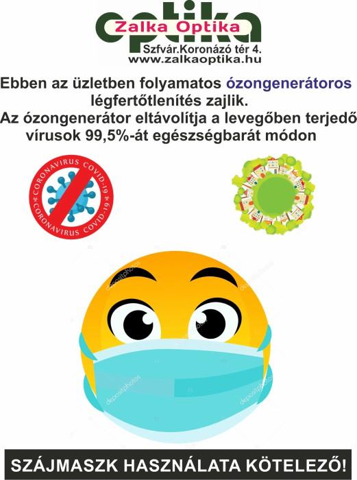 Ózongenerátoros légfertőtlenítés
