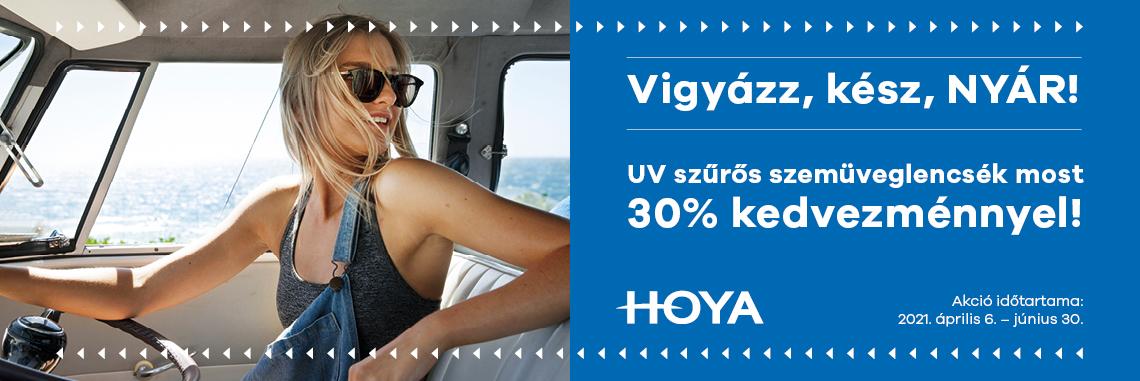 Fényresötétedő és napvédő szemüveglencsék 30% kedvezménnyel