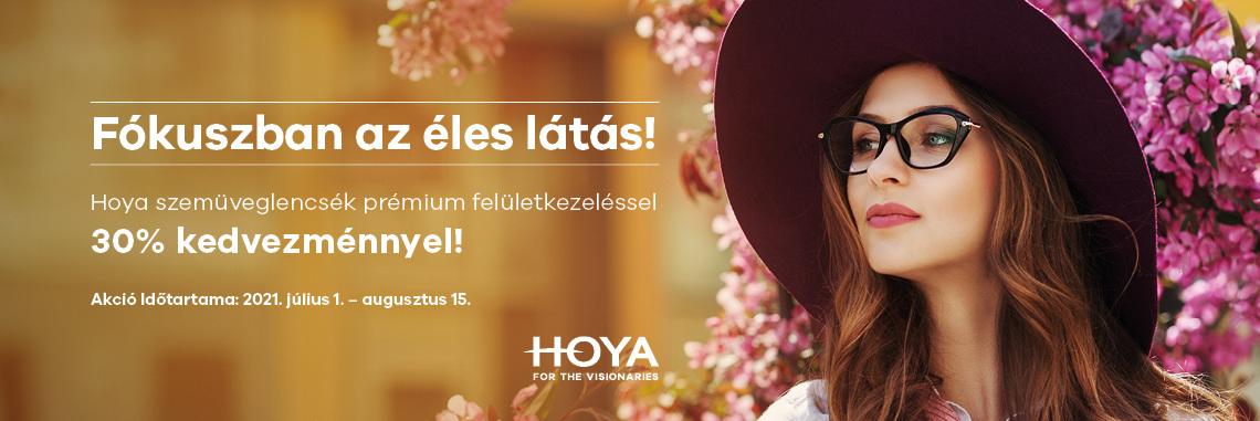 Hoya egyfókuszú szemüveglencsék akcióban