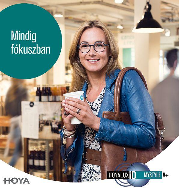 Hoyalux iD MyStyle V+ szemüveglencse