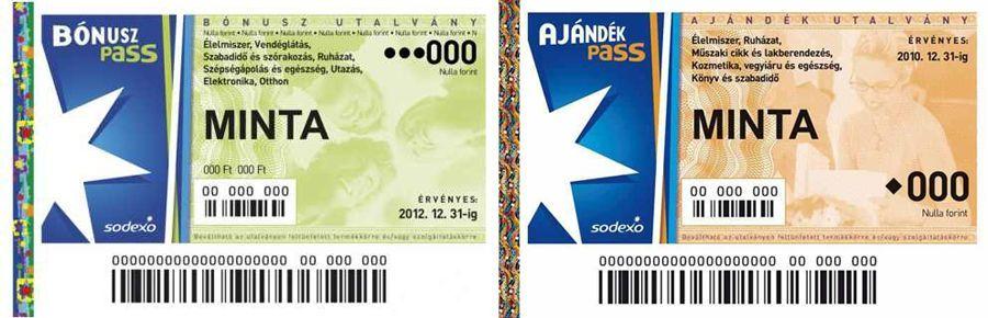 Sodexo Pass Bónusz és Sodexo Pass Ajándék utalványok elfogadása