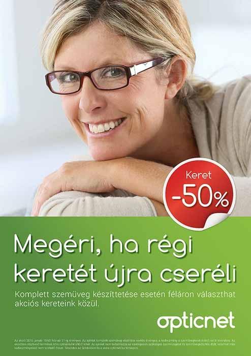 szemüvegkeret akció