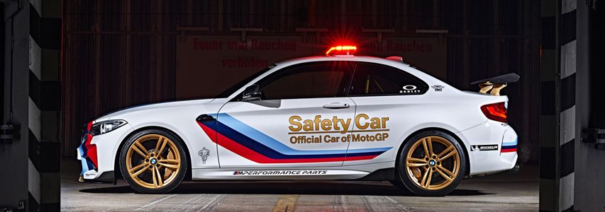 official safety car of Moto GP 2016