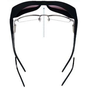 szemüvegre illeszkedő napszemüveg