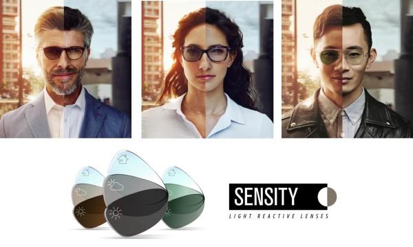 Tűnjön ki a tömegből az új Sensity lencsékkel!