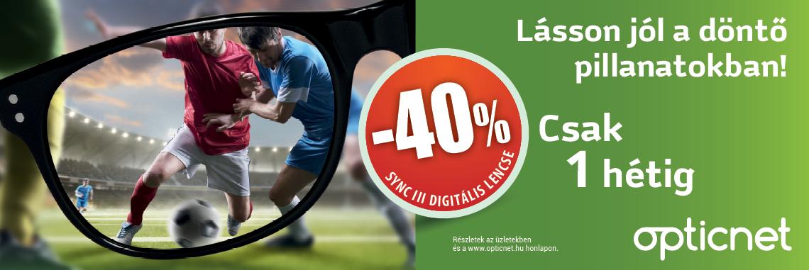 SYNC III digitális lencse 40% kedvezménnyel