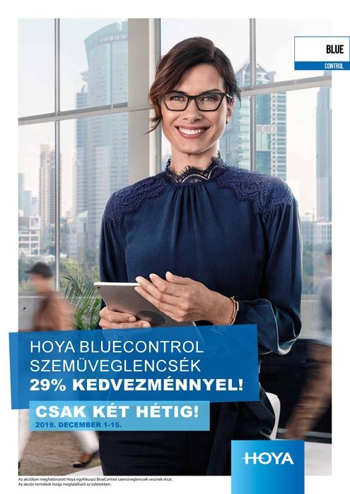 Bluecontrol szemüveglencse 29% kedvezménnyel
