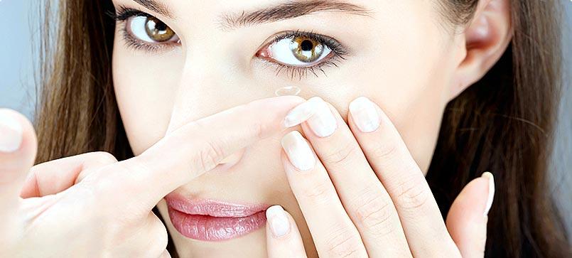 Kontaktlencse ápolás