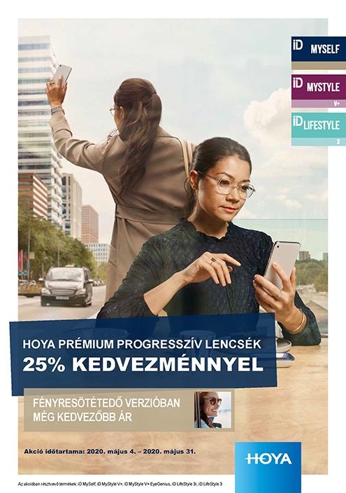 Hoyalux ID Premium multifokális lencsék 30% kedvezménnyel