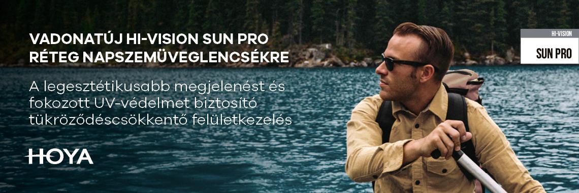 Hi-Vision Sun Pro felületkezelés